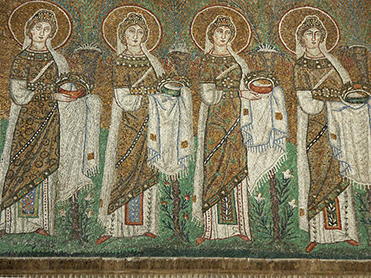 Procession of Virgin Martyrs, 504 C.E.