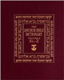 The Anchor Bible Dictionary, vol. 6