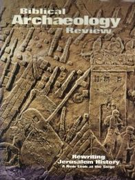 Biblical Archaeology Review 25