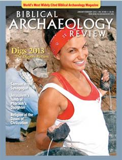 Biblical Archaeology Review 39, no. 1
