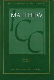 A Critical and Exegetical Commentary on the Gospel According to St. Matthew