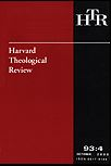 Harvard Theological Review 95