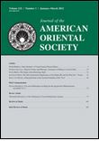 Journal of the American Oriental Society 101