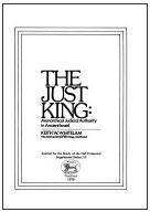 The Just King: Monarchical Judicial Authority in Ancient Israel.