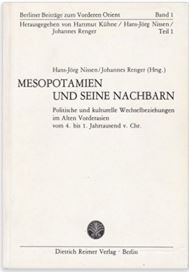 Mesopotamien und seine Nachbarn—XXVe Recontre Assyriologique Internationale