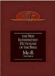 The New Interpreters Dictionary of the Bible vol. 4