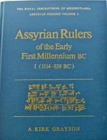 Royal Inscriptions from Mesopotamia: Assyrian Periods