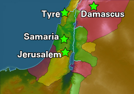 Kingdom of Israel on israel split into two kingdoms, map of ancient canaan, map of judah, map moab bethlehem judah, israel divided into two kingdoms,
