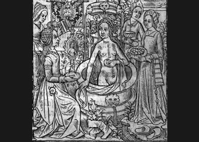 Bathsheba bathing with her entourage, 1521.