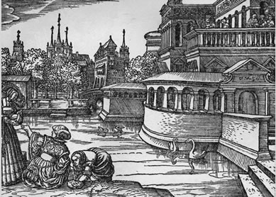 Illustration from the 1534 Wittenberg edition of Luther's German Bible.