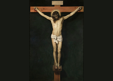 Diego Velazquez (1599-1660), Christ Crucified, circa 1632. Oil on canvas, Prado Museum, Madrid.