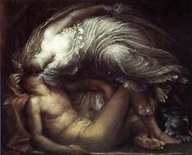 George Frederick Watts, Endymion, 1872.