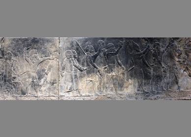 Gypsum relief-Nineveh-2