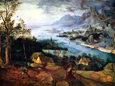 Pieter Bruegel the Elder, Parable of the Sower, 1557.