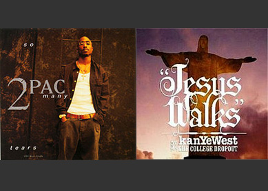 Album covers for Tupac