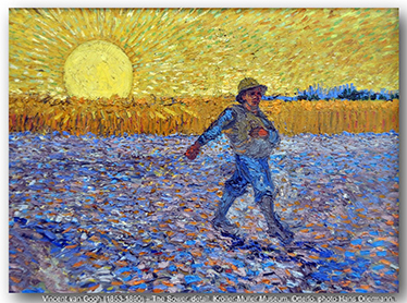 Vincent van Gogh, The Sower, 1888.