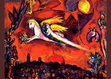 Marc Chagall, Song Of Songs IV, 1958.