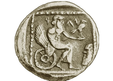 fourth century Judean coin
