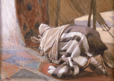 James Tissot, God's Promises to Abram. Gouache on board, 1896–1902.