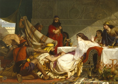 Edward Armitage, The Festival of Esther, 1865.