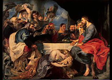 Feast in the House of Simon the Pharisee, 1618-20.