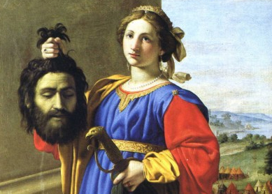 Giovanni Battista Salvi, Judith. Oil on canvas, 17th century.