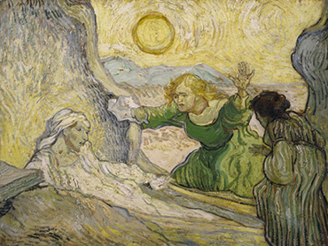 Vincent van Gogh. The Raising of Lazarus, 1890. Oil on canvas. Van Gogh Museum, Amsterdam.