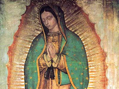 The Virgin of Guadalupe, 1531.