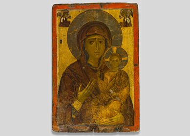 Icon of the Virgin Hodegetria, 12th century.