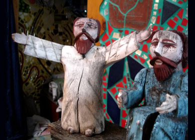 Isaiah Zagar, Prophet Isaiah and the Angel