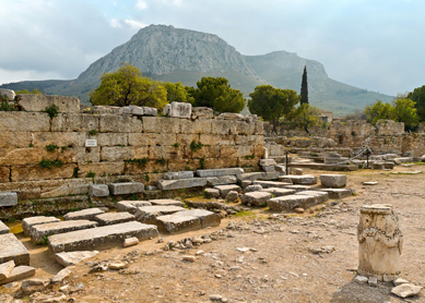 Bema at Ancient Corinth
