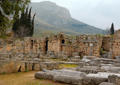 Church at Corinth - Shops