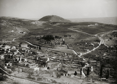 Eric Matson/American Colony, Jerusalem, Nazareth and Mount Tabor. Photograph, early 20th century.