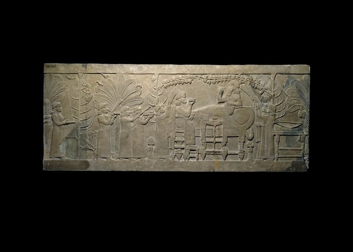 "The ""Garden Party"", the North Palace of Ashurbanipal, Nineveh, circa 645 B.C.E."