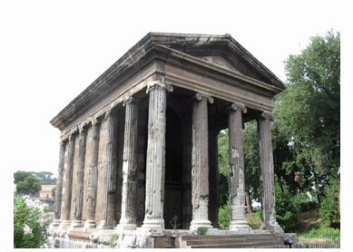 Temple of Portunus, first century B.C.E., Rome.