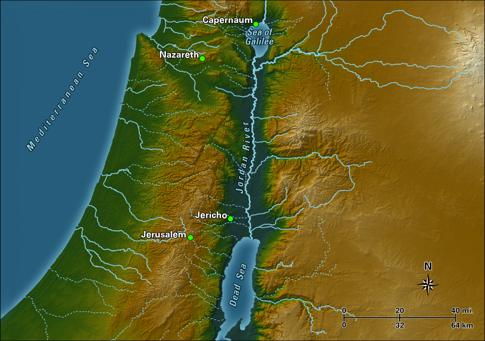 Image result for the Jordan River Palestine maps
