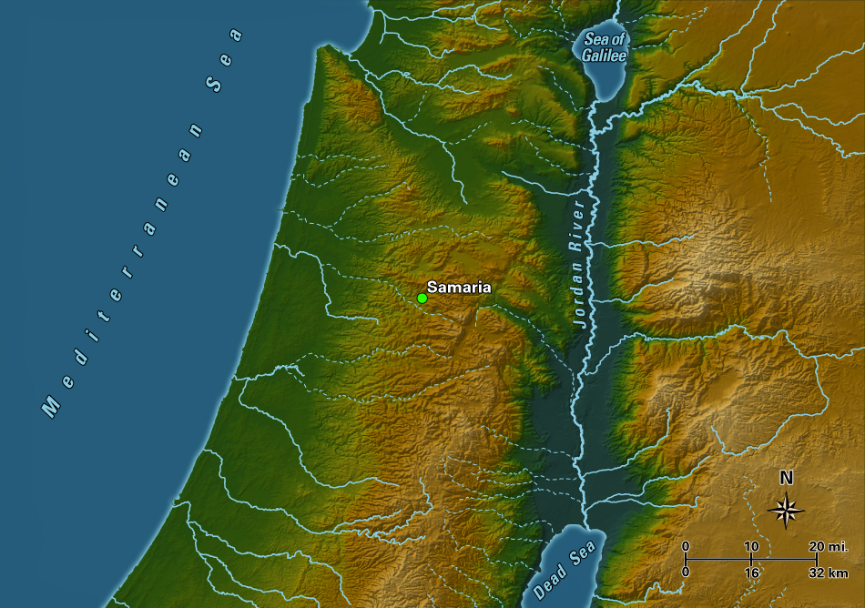 Samaria Samaria Map on aelia capitolina map, israeli settlement, middle east map, mount carmel map, sinai peninsula map, iudaea province map, philistia map, jezreel valley map, west bank map, the decapolis map, laodicean church map, mount gerizim, jerusalem map, jordan river map, tyre map, judea and samaria, sea of galilee, old testament holy land map, damascus map, kingdom of judah, tell beit mirsim map, the whole state map, dead sea map, antonia fortress map,