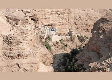 The Road to Jericho Oasis Geography
